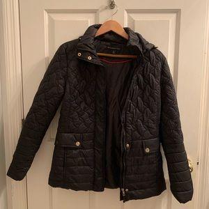 Preston & York Quilted Water Resistant Coat